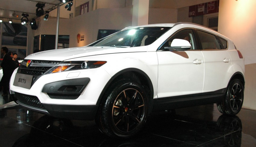 Youngman Lotus T5 – could this be Proton's new SUV? Image #102421