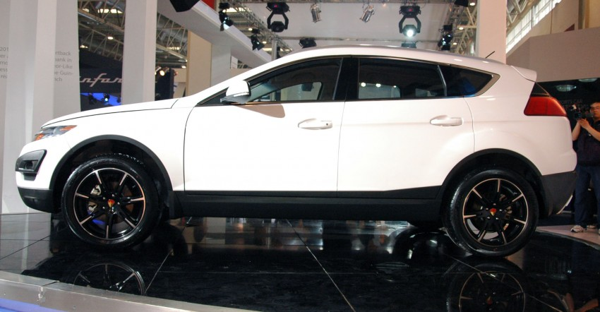 Youngman Lotus T5 – could this be Proton's new SUV? Image #102445