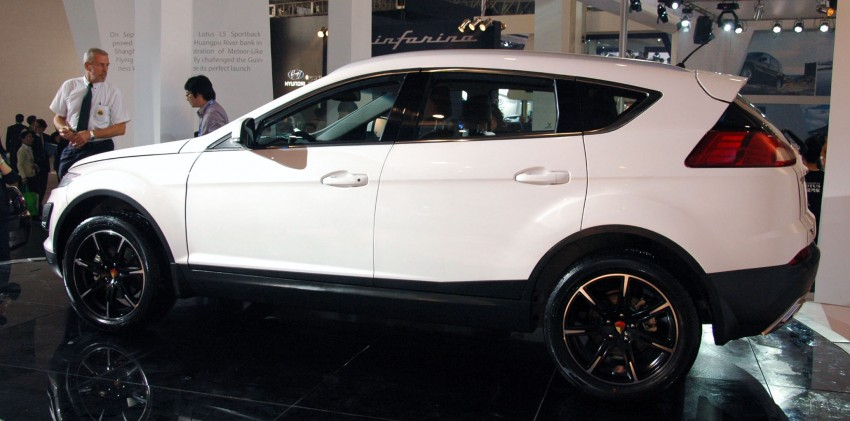 Youngman Lotus T5 – could this be Proton's new SUV? Image #102422
