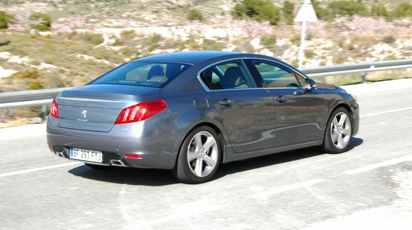 French flair: Peugeot 508 test drive report from Spain Image #73345