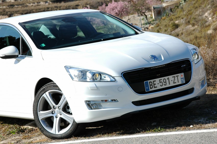 French flair: Peugeot 508 test drive report from Spain Image #73377