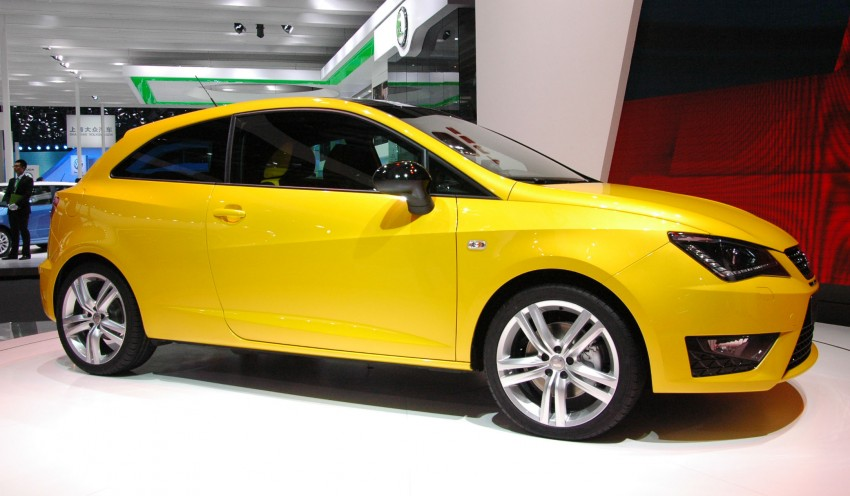 SEAT Ibiza Cupra close-to-production concept in Beijing Image #103026