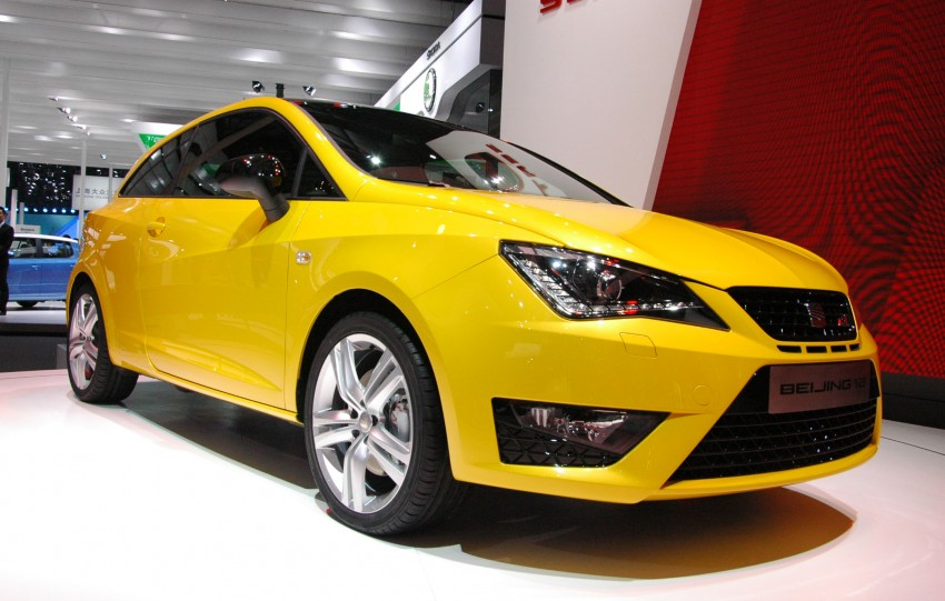 SEAT Ibiza Cupra close-to-production concept in Beijing Image #103028