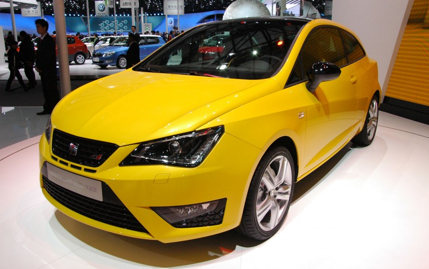 SEAT Ibiza Cupra close-to-production concept in Beijing Image #103030
