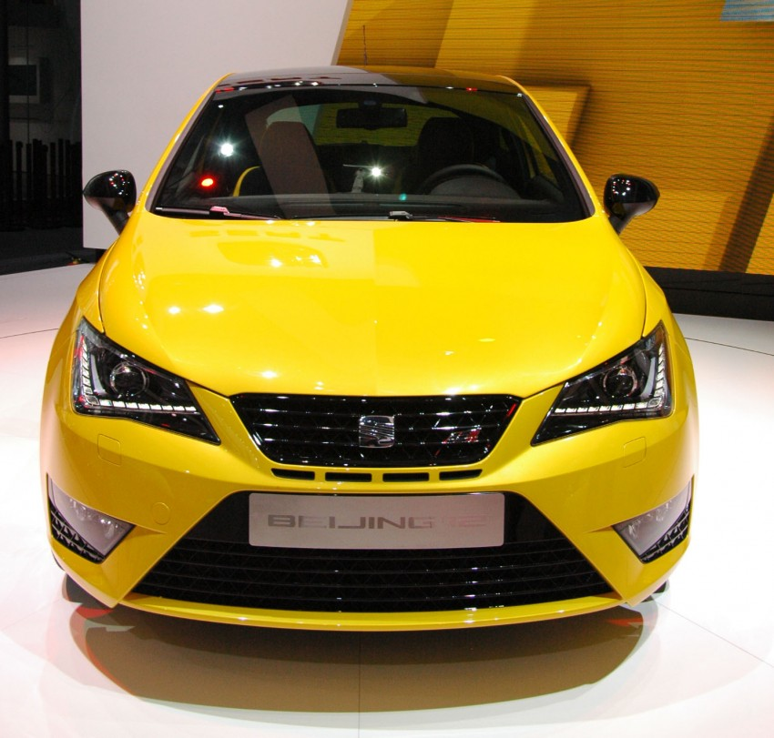 SEAT Ibiza Cupra close-to-production concept in Beijing Image #103031
