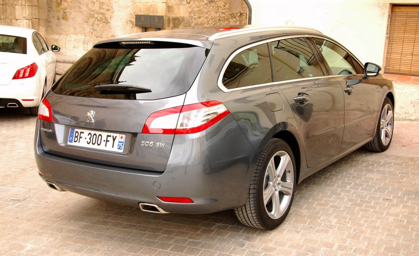 French flair: Peugeot 508 test drive report from Spain Image #73401