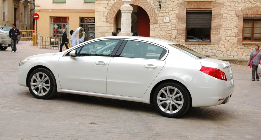 French flair: Peugeot 508 test drive report from Spain Image #73367