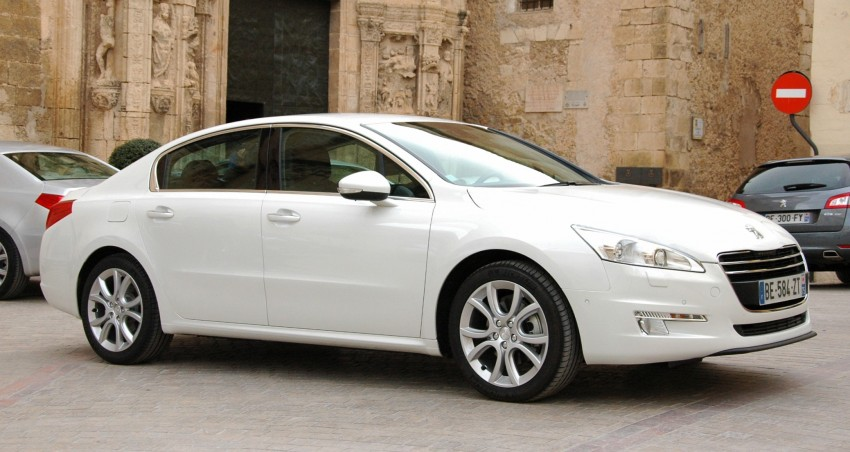 French flair: Peugeot 508 test drive report from Spain Image #73381