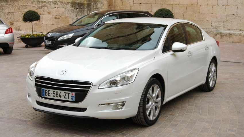 French flair: Peugeot 508 test drive report from Spain Image #73327