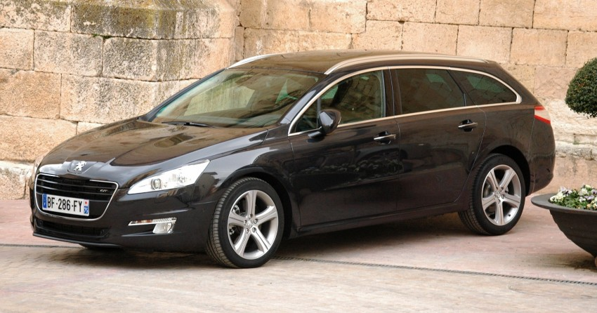 French flair: Peugeot 508 test drive report from Spain Image #73357