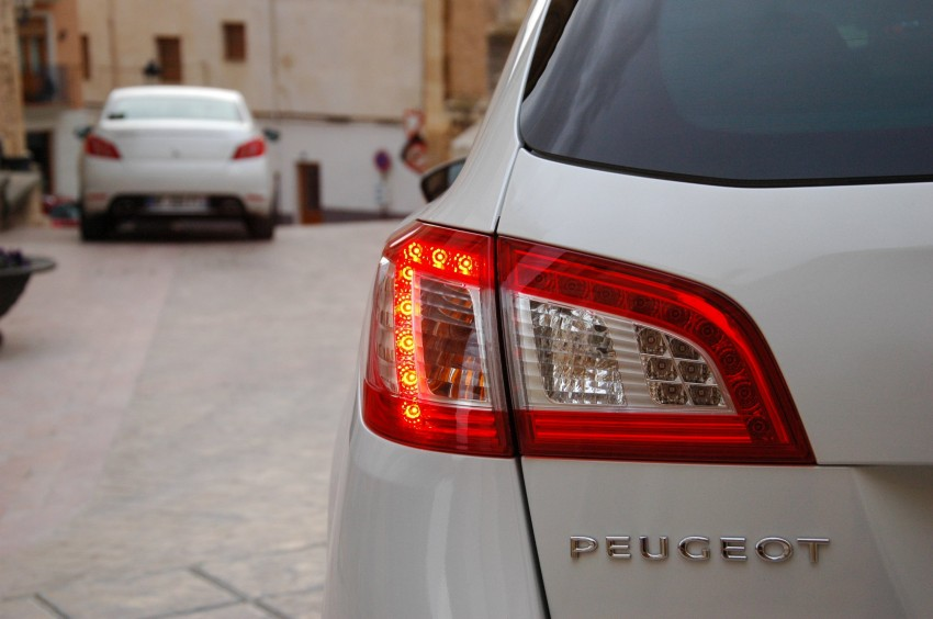 French flair: Peugeot 508 test drive report from Spain Image #73330