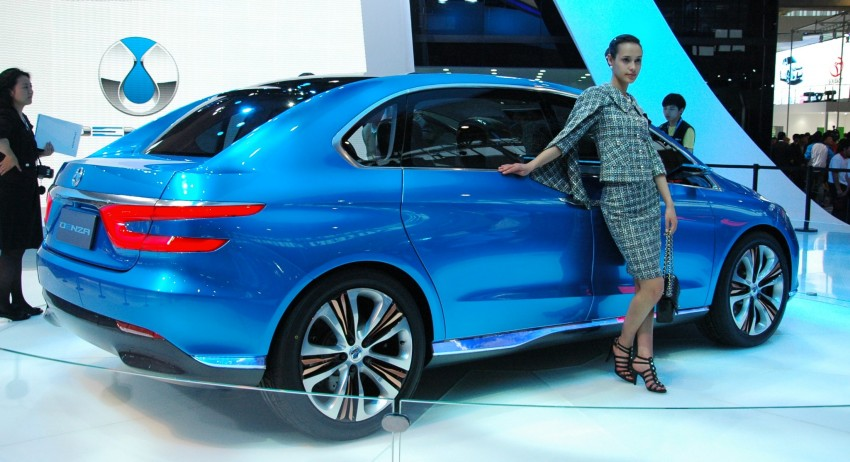 First Denza electric vehicle surfaces at Auto China 2012 Image #103020