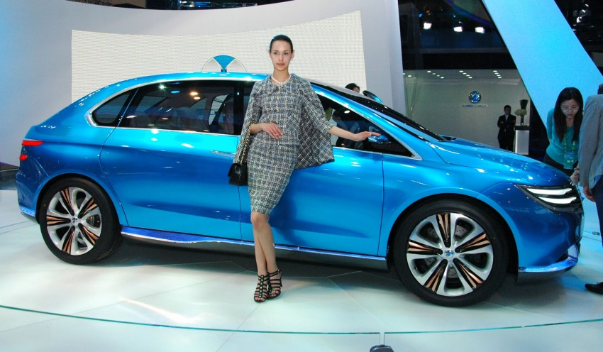 First Denza electric vehicle surfaces at Auto China 2012 Image #103017