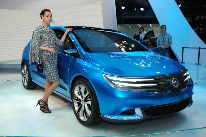 First Denza electric vehicle surfaces at Auto China 2012 Image #103021