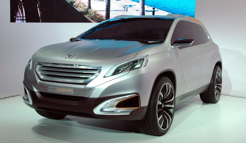 Peugeot Urban Crossover Concept hints at the future Image #102833