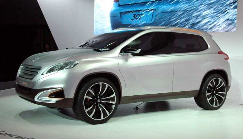Peugeot Urban Crossover Concept hints at the future Image #102834