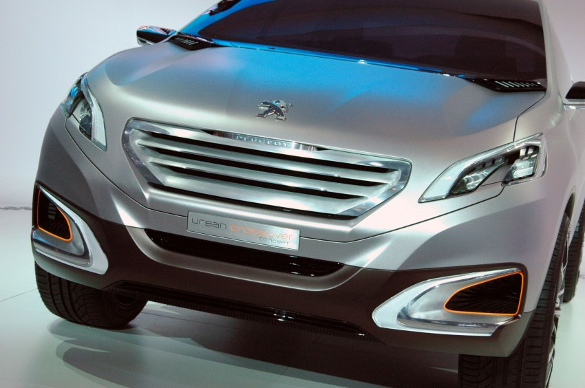 Peugeot Urban Crossover Concept hints at the future Image #102837