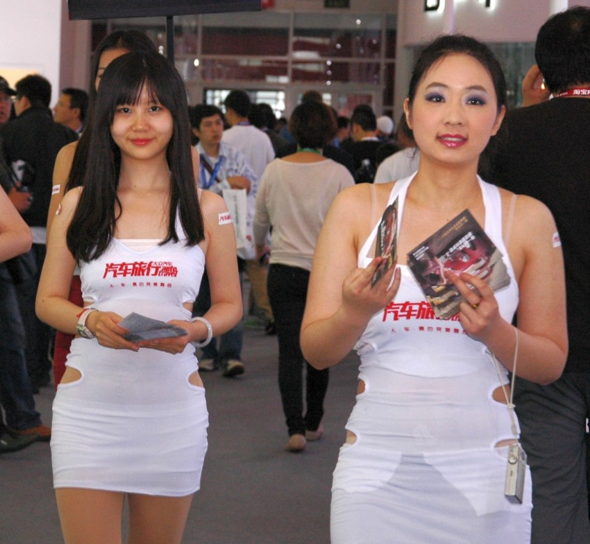 Auto China 2012: the ladies of Beijing share the spotlight Image #104514