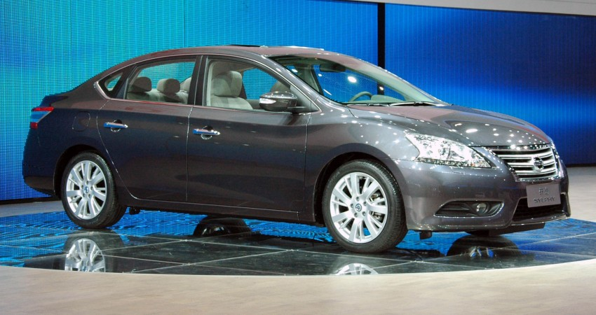 Nissan Sylphy gets new engine and updated CVT Image #102731