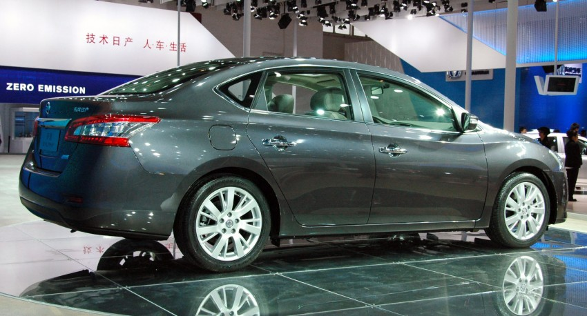 Nissan Sylphy gets new engine and updated CVT Image #102751