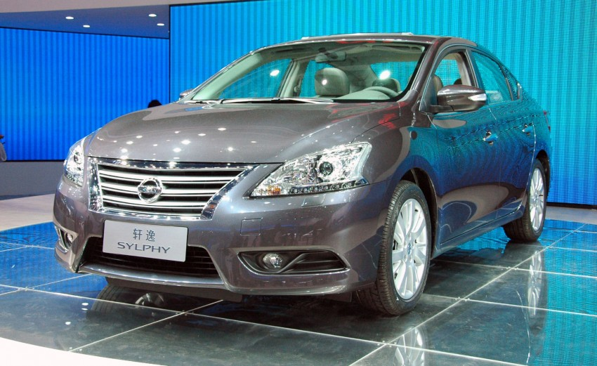 Nissan Sylphy gets new engine and updated CVT Image #102752