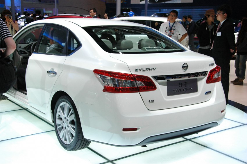 Nissan Sylphy gets new engine and updated CVT Image #102758