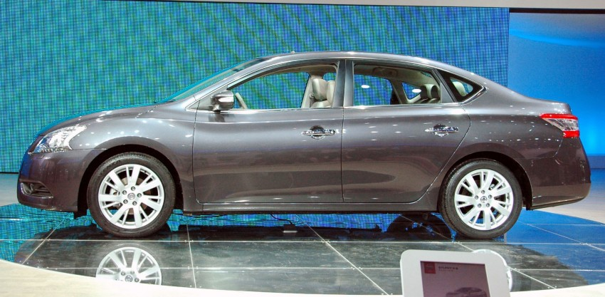 Nissan Sylphy gets new engine and updated CVT Image #102753