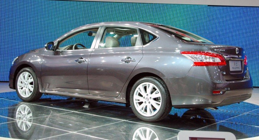 Nissan Sylphy gets new engine and updated CVT Image #102759