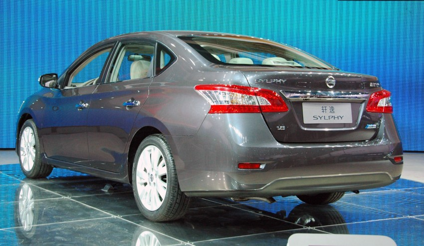 Nissan Sylphy gets new engine and updated CVT Image #102754