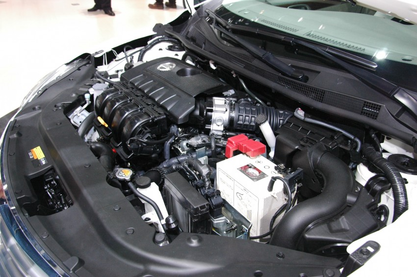 Nissan Sylphy gets new engine and updated CVT Image #102756