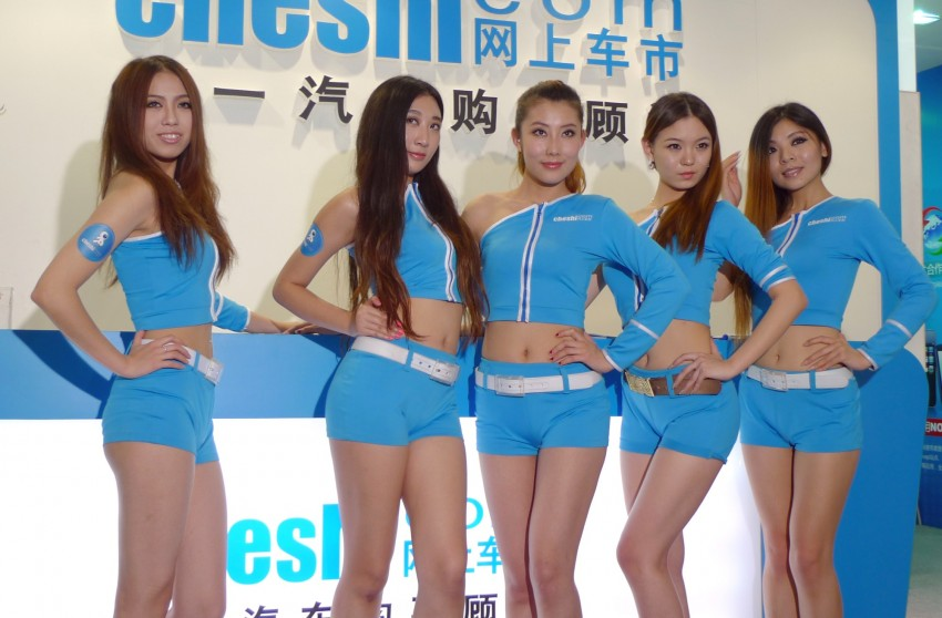 Auto China 2012: the ladies of Beijing share the spotlight Image #104512