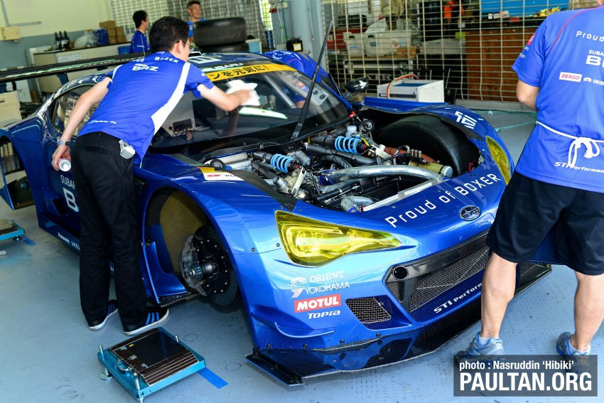 Autobacs Super GT 2012 Round 3: Friday Gallery Image #111052