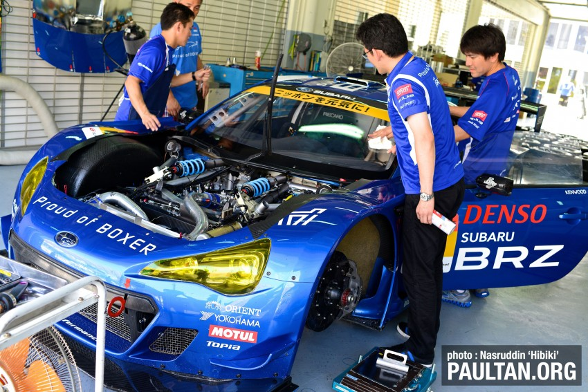 Autobacs Super GT 2012 Round 3: Friday Gallery Image #111053