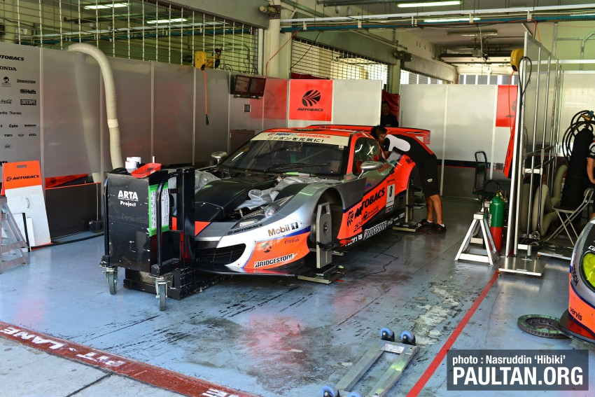 Autobacs Super GT 2012 Round 3: Friday Gallery Image #111056