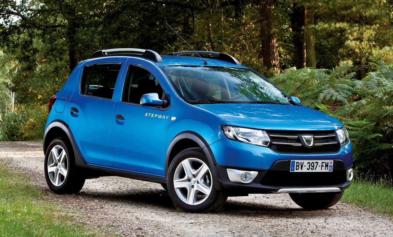 dacia sandero stepway logan hatch with 4x4 style. Black Bedroom Furniture Sets. Home Design Ideas