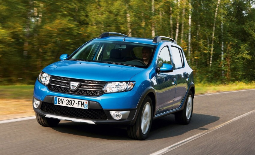 Dacia Sandero Stepway – Logan hatch with 4X4 style Image #134470