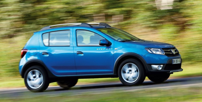 Dacia Sandero Stepway – Logan hatch with 4X4 style Image #134471