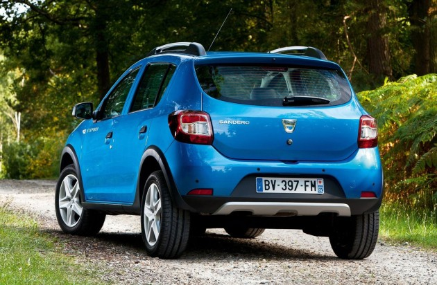 Topping off the Stepway's 4X4 image is raised ground clearance, a