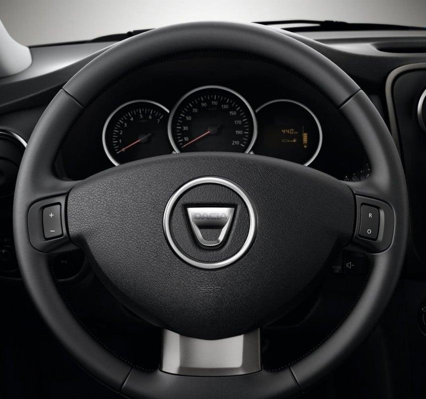 Dacia Sandero Stepway – Logan hatch with 4X4 style Image #134475
