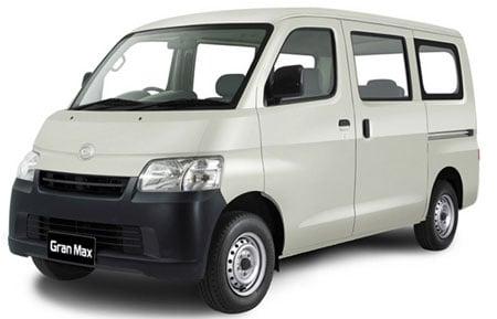 2008 Daihatsu Gran Max minibus and pickup