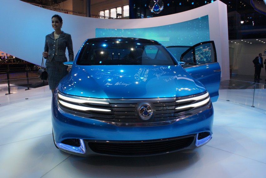 First Denza electric vehicle surfaces at Auto China 2012 Image #102913