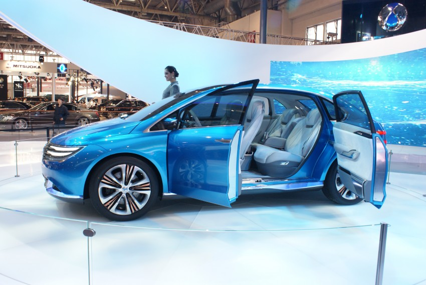 First Denza electric vehicle surfaces at Auto China 2012 Image #102915