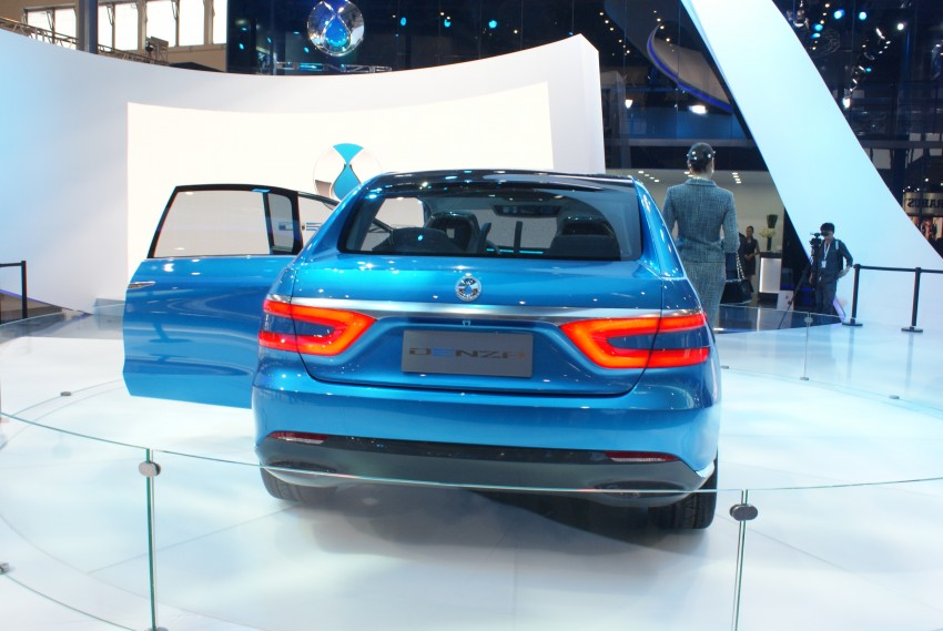 First Denza electric vehicle surfaces at Auto China 2012 Image #102914