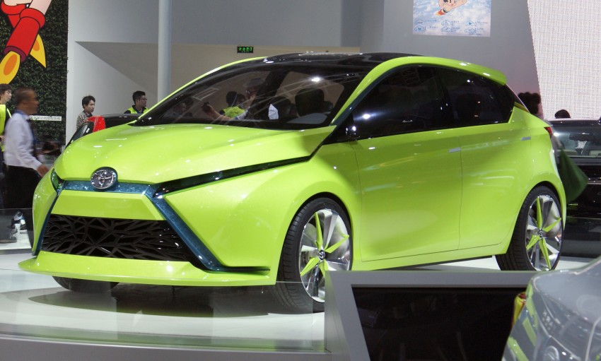 Toyota Yundong Shuangqing Hybrid and Dear Qin sedan and hatch concepts make their mark in Beijing Image #103040