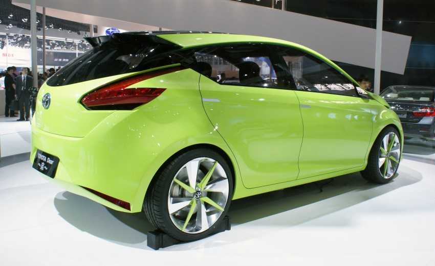 Toyota Yundong Shuangqing Hybrid and Dear Qin sedan and hatch concepts make their mark in Beijing Image #103039