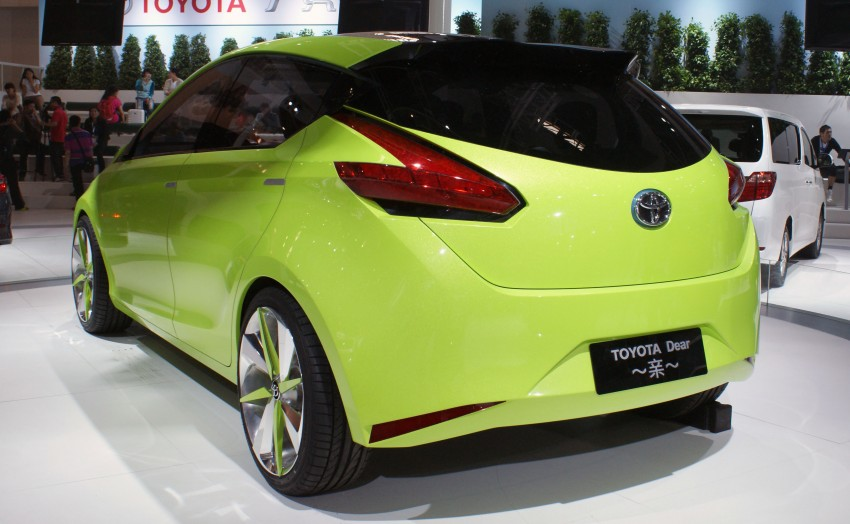 Toyota Yundong Shuangqing Hybrid and Dear Qin sedan and hatch concepts make their mark in Beijing Image #103038