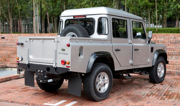 Land Rover Defender 110 Double Cab now in Malaysia