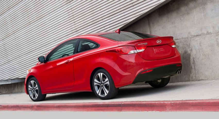 Hyundai Elantra Coupe – two-door joins the line-up Image #86848