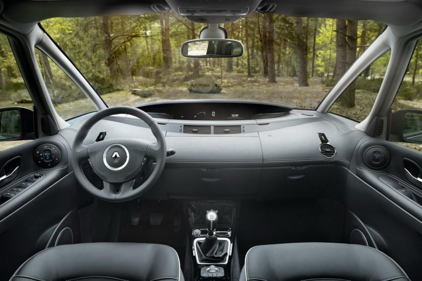 Renault Espace IV gets facelift, better economy Image #114345