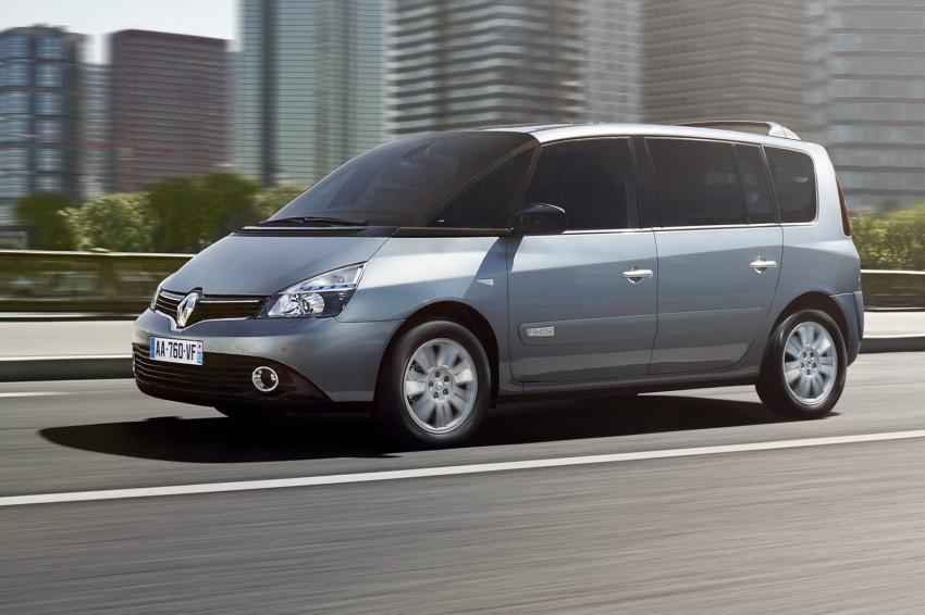 Renault Espace IV gets facelift, better economy Image #114348